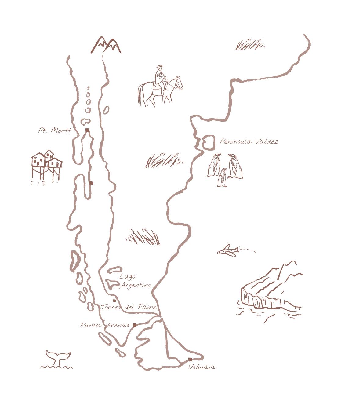 Patagonië V2