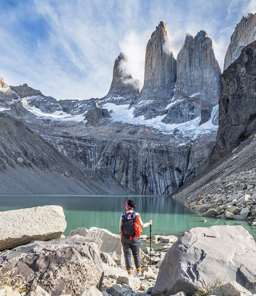 Chile Bucket W Trekking Torres Del Paine